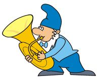 Dwarf - trumpet Royalty Free Stock Photo