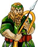 Dwarf warrior Royalty Free Stock Photo