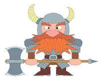 Dwarf warrior Royalty Free Stock Photos