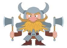 Dwarf warrior stock photography