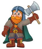 Dwarf warrior theme image 1 Royalty Free Stock Photography