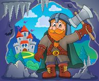 Dwarf warrior theme image 3 Royalty Free Stock Image