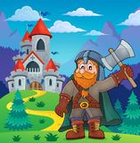 Dwarf warrior theme image 4 Stock Images