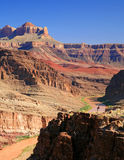 Dwarfed by the Canyon royalty free stock images