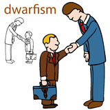 Dwarfism Royalty Free Stock Photography