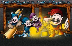 Dwarfs Stock Photo