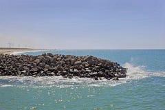 Środowiska Dwarka Świadoma linia brzegowa Zdjęcie Stock