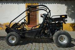 Dwars auto Royalty-vrije Stock Afbeeldingen