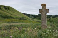 Dwars monument Royalty-vrije Stock Afbeeldingen