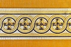 Dwars textiel Royalty-vrije Stock Foto's