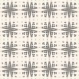 Dwarsbroedsel naadloos patroon Netto textuur van netwerk, Web, net, kraspatroon Royalty-vrije Stock Foto