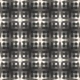 Dwarsbroedsel vectorpatroon Abstracte naadloze textuur met dunne lijnen, strepen Stock Fotografie