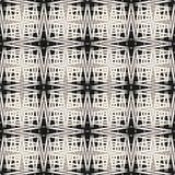 Dwarsbroedsel vectorpatroon Abstracte naadloze textuur met dunne lijnen, strepen Royalty-vrije Stock Fotografie