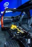 Dwarsdoorsnede van Ford NAGELNIEUWE EVEREST Stock Afbeeldingen