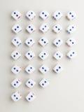 Dwarspatroon uit twee Stock Foto