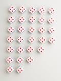Dwarspatroon uit vier Royalty-vrije Stock Afbeelding