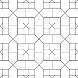 Dwarspatroonbehang stock illustratie