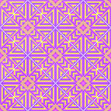Dwarssteek Naadloos Patroon Borduurwerkachtergrond stock illustratie