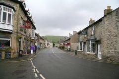 Dwarsstraat, Castleton royalty-vrije stock fotografie