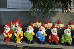 Dwarves for decorating Royalty Free Stock Photography
