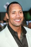Dwayne. The Rock Johnson at the world premiere of The Game Plan. El Capitan Theater, Hollywood, CA. 09-23-07 Royalty Free Stock Photo
