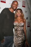 Dwayne Adway,Traci Bingham, Royalty Free Stock Photos