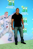 Dwayne Johnson. Aka 'The Rock' arriving at the Planet 41 Movie Premiere Mann's Village Theater - Westwood Los Angeles,  CA November 14, 2009 Stock Photo