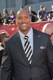 Dwayne Johnson royalty-vrije stock afbeelding