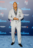 Dwayne Johnson. At the AFI FEST 2016 Premiere of `Moana` held at the El Capitan Theatre in Hollywood, USA on November 14, 2016 Royalty Free Stock Photography