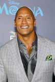 Dwayne Johnson. At the AFI FEST 2016 Premiere of `Moana` held at the El Capitan Theatre in Hollywood, USA on November 14, 2016 Royalty Free Stock Photos