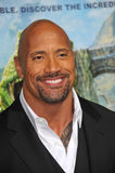 Dwayne Johnson, Journey. Dwayne Johnson, aka The Rock, at the Los Angeles premiere of his new movie Journey 2: The Mysterious Island at Grauman's Chinese Royalty Free Stock Images