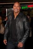 Dwayne Johnson, la ROCCIA Fotografie Stock