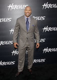 Dwayne Johnson. At the Los Angeles premiere of Hercules held at the TCL Chinese Theatre in Los Angeles on July 23, 2014 in Los Angeles, California Royalty Free Stock Images