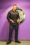 Dwayne Johnson-Wachsmodell Stockbild