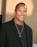Dwayne 'Rockowy' Johnson, Dwayne 'Rockowy' Johnson skała Zdjęcia Stock