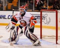Dwayne Roloson, New York Islanders. New York Islanders goalie Dwayne Roloson #30 royalty free stock images