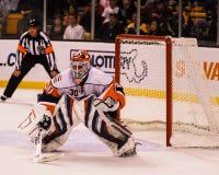 Dwayne Roloson, New York Islanders. New York Islanders goalie D wayne Roloson #30 royalty free stock photos