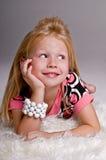 Dwaze Blond Royalty-vrije Stock Foto's