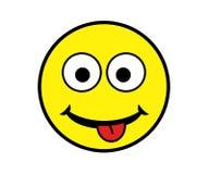 Dwaze Smiley Royalty-vrije Stock Afbeeldingen