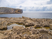 Dwejra海湾 免版税库存图片