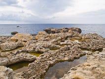 Dwejra Bay Stock Photo