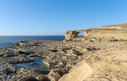 Dwejra - Gozo, Malta Royalty Free Stock Photo