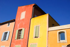 Dwelling colors. Stock Photo