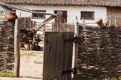 Dwelling Cossacks - a hut Stock Photo