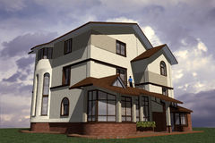 Dwelling House Stock Photo