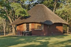 Dwelling house in Kudus Rus game lodge Royalty Free Stock Photos