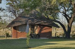Dwelling house in Kudus Rus game lodge Royalty Free Stock Photography