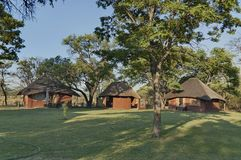 Dwelling house in Kudus Rus game lodge Stock Photography