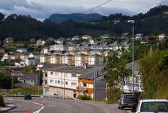 Dwelling houses at  Galicia Royalty Free Stock Photos