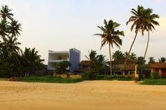 Dwelling houses near the beach, Koggala, Sri Lanka Stock Photography